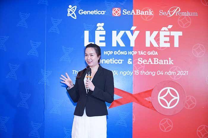 Genetica hợp tác chiến lược với ngân hàng SeABank
