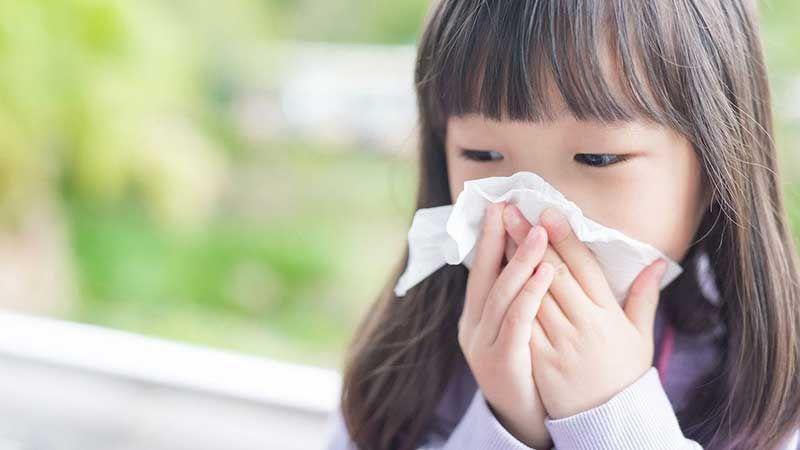 Các bệnh ở trẻ thường gặp vào mùa đông xuân và cách phòng tránh