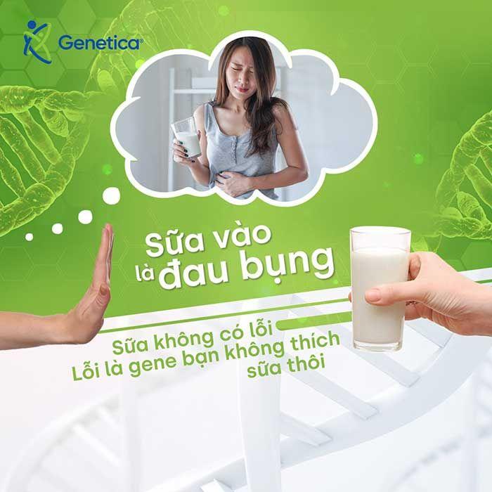 Xét nghiệm gen tìm nguyên nhân không thể dung nạp sữa