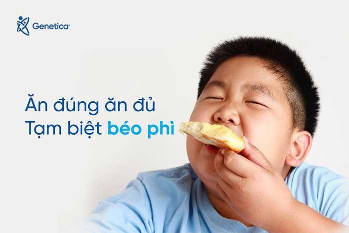 Sự nguy hiểm của béo phì với trẻ em