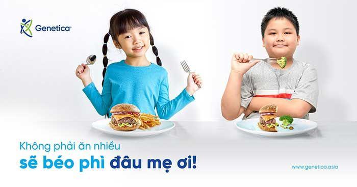 Yếu tố gene và tình trạng béo phì ở trẻ em