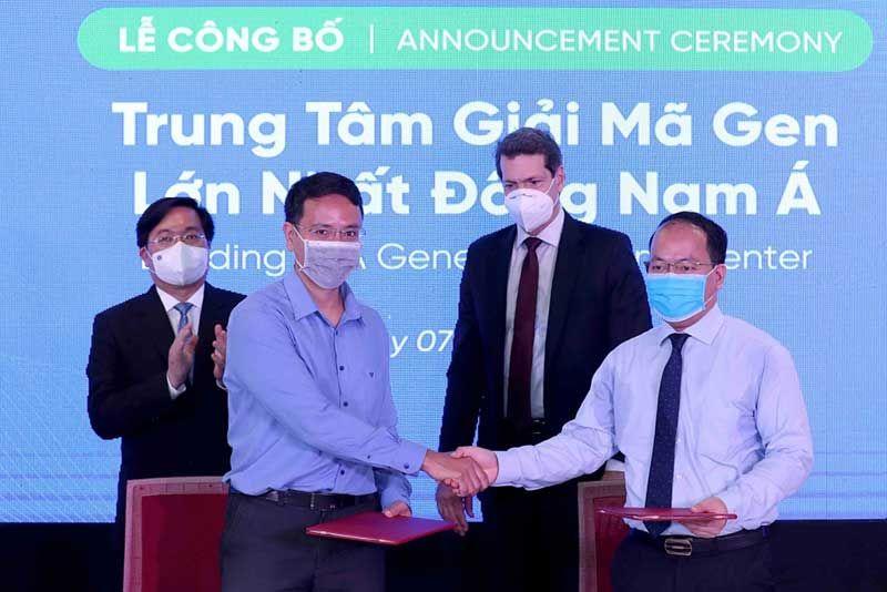 Genetica đặt trung tâm giải mã gen lớn nhất đông nam á tại trung tâm đổi mới sáng tạo quốc gia - NIC (Việt Nam)