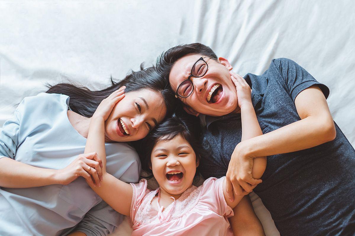 Giai đoạn dậy thì của con chịu ảnh hưởng của cả cha và mẹ